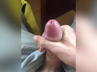 Precum Drizzle Abroad -- By Oneself Twink Spy On Off